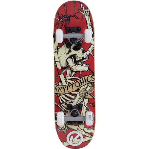 """Kryptonics 22"""" Locker Board Complete Skateboard"""