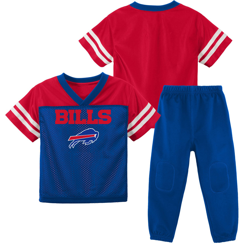 NFL Buffalo Bills Toddler Short Sleeve Top and Pant Set
