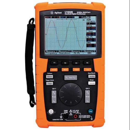 KEYSIGHT TECHNOLOGIES U1602B Handheld Oscilloscope, 20MHz