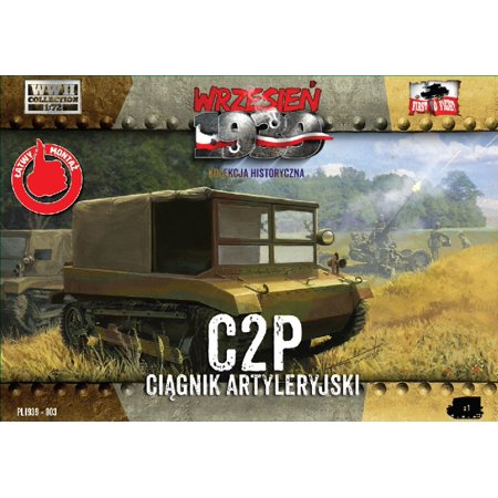 1/72 C2P Polish Light Artillery Tractor - image 1 de 1