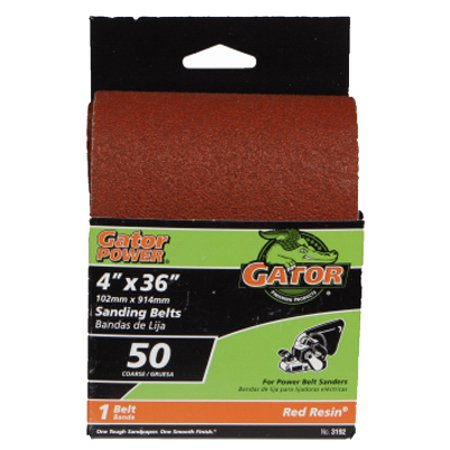Image of Ali Industries 3192 4 x 36-In. 50-Grit Bi-Directional Sanding Belt