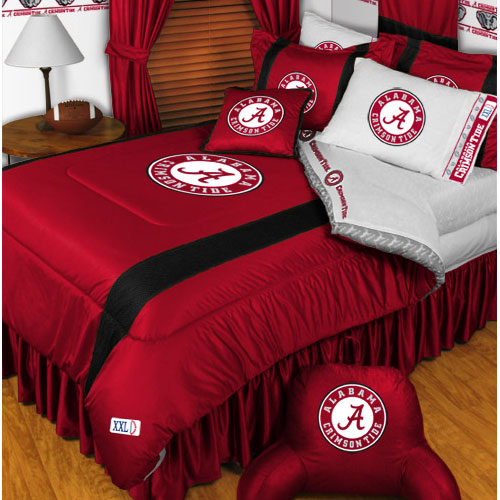NCAA Alabama Crimson Tide Bedding Set College Football Bed Queen