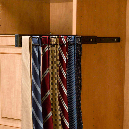 Rev-A-Shelf  TRC-14  Tie Racks  TRC  Closet Organizers  ;Oil Rubbed Bronze