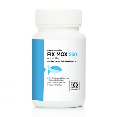 Fish mox fix mox 250mg 100 count amoxicllin fish for Fish antibiotics walmart