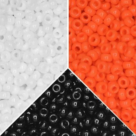Exclusive Beadaholique Designer Palette, Miyuki Seed Bead Mix, Round 11/0, 25.5 Grams, Halloween - Travel Channel Halloween Gram