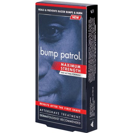 Bump Patrol Aftershave Razor Bump Treatment, Max Strength, 2 oz