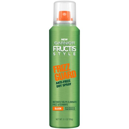 Garnier Fructis Style Frizz Guard Anti-Frizz Dry Spray, 3.1 Oz (Anti Frizz Moisturizer)