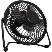 Optimus 4 inch Personal Fan, Black