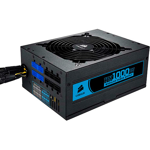 Corsair HX Series 80 Plus 1000-Watt Certified Power Supply, CMPSU-1000HX