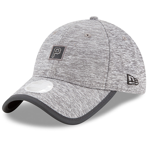 Pittsburgh Pirates New Era Women's Trimflect 9TWENTY Adjustable Hat - Gray - OSFA