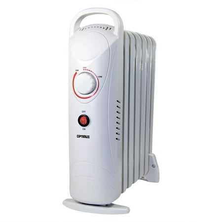 Optimus 700W Mini Portable Heater with Oil-Filled
