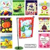 Seasonal Holiday Garden Flags Set of 9 - 12- x 18