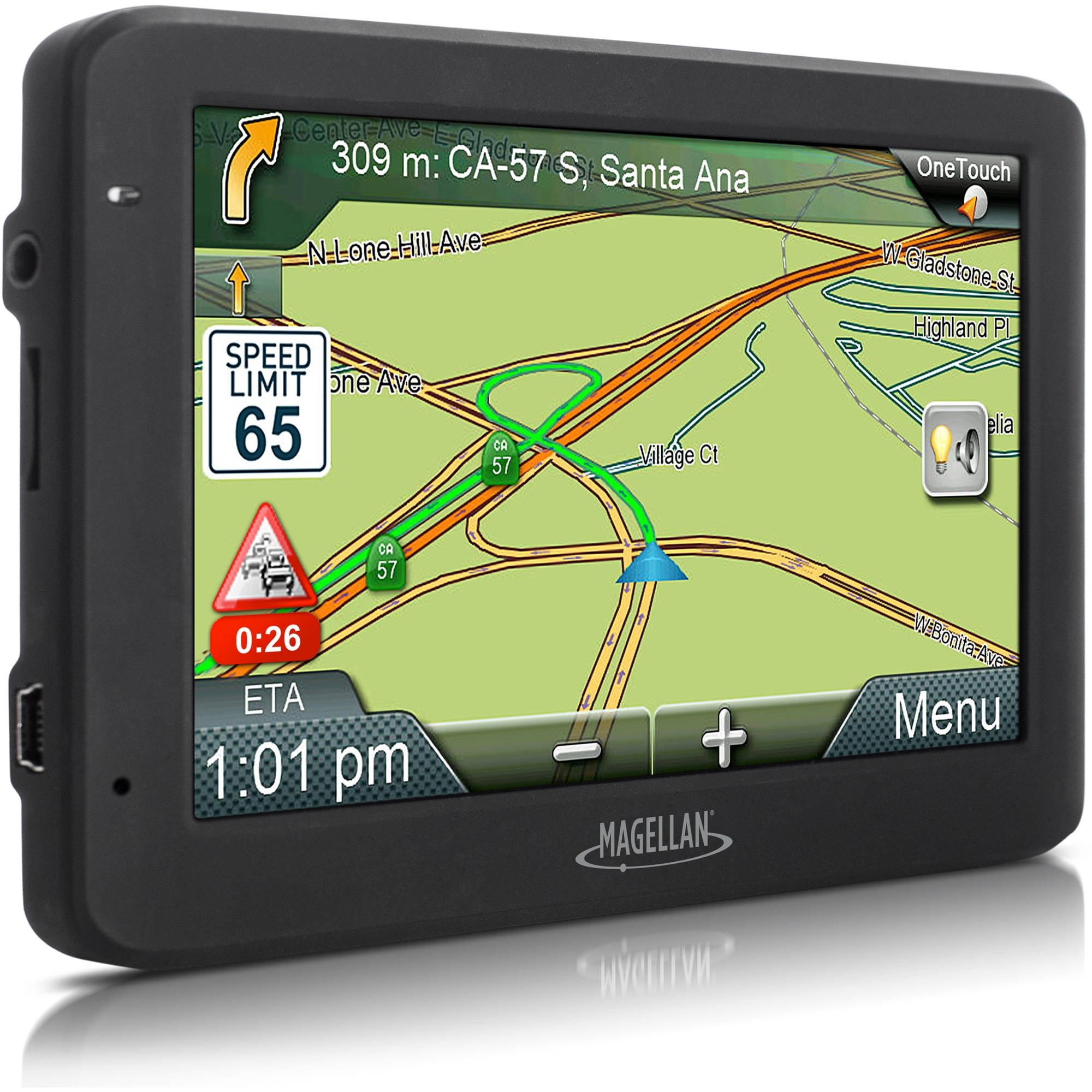 "Magellan RoadMate 5635T-LM 5.0"" Touchscreen Portable GPS System (Certified Refurbished)"