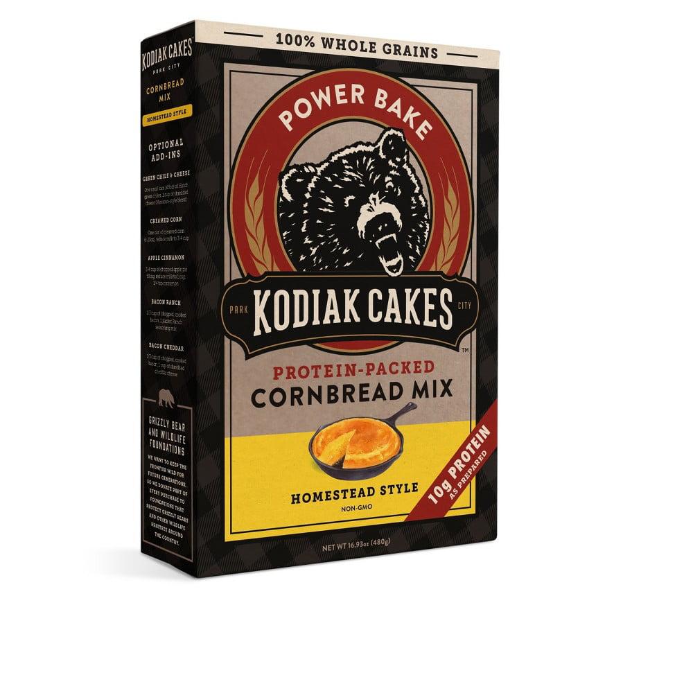 Kodiak Cakes - Protein-Packed Cornbread Mix (Pack of 6)