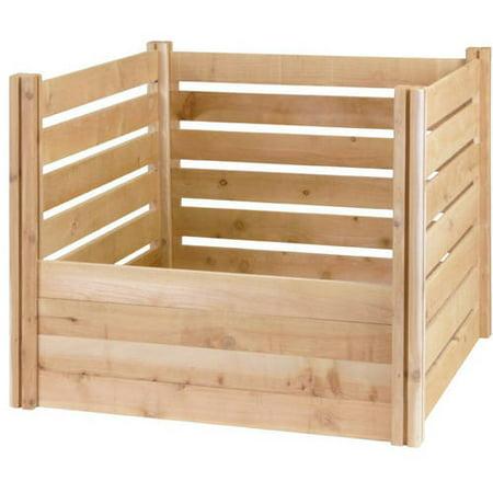 23 Cubic Feet Greenes Fence Cedar Wood Composter