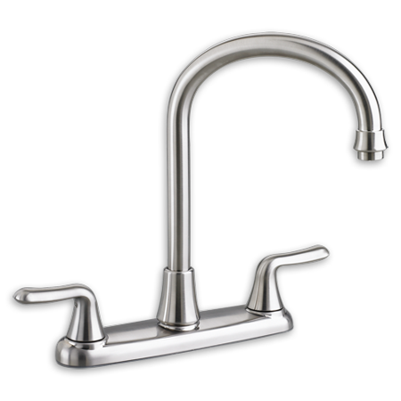 American Standard Colony Soft 2.2 GPM High-Arc 2-Handle Kitchen Faucet in Chrome