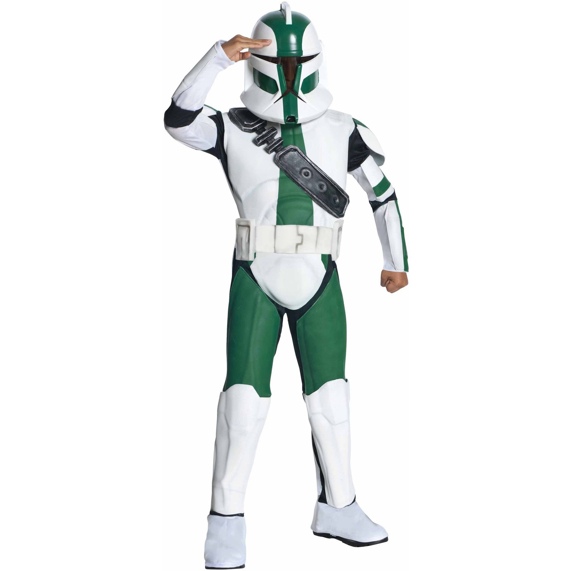 Star Wars The Clone Wars Clone Trooper Commander Gree Child Halloween  Costume