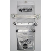 Wilde Tool 883/Vr 3-Piece Ratchet Box Wrench Set Vinyl Roll
