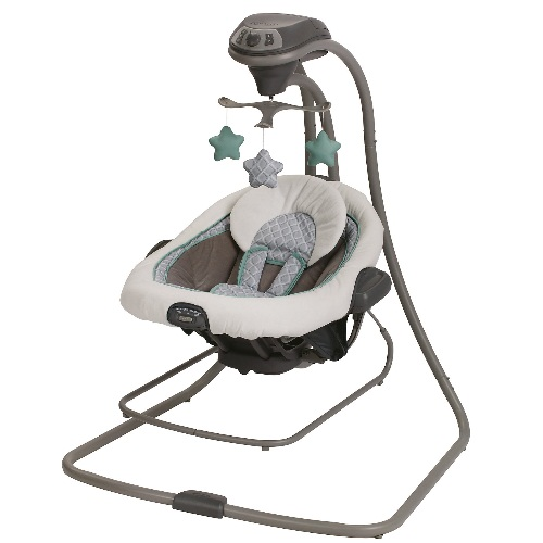 Graco Duet Connect LX Swing Plus Bouncer, Manor