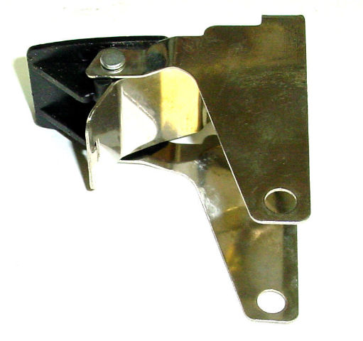 """Tech-Lock Brake Kit w/Notches for Casters with 4"""" Dia. x 1.-1/4"""" wide Wheels"""