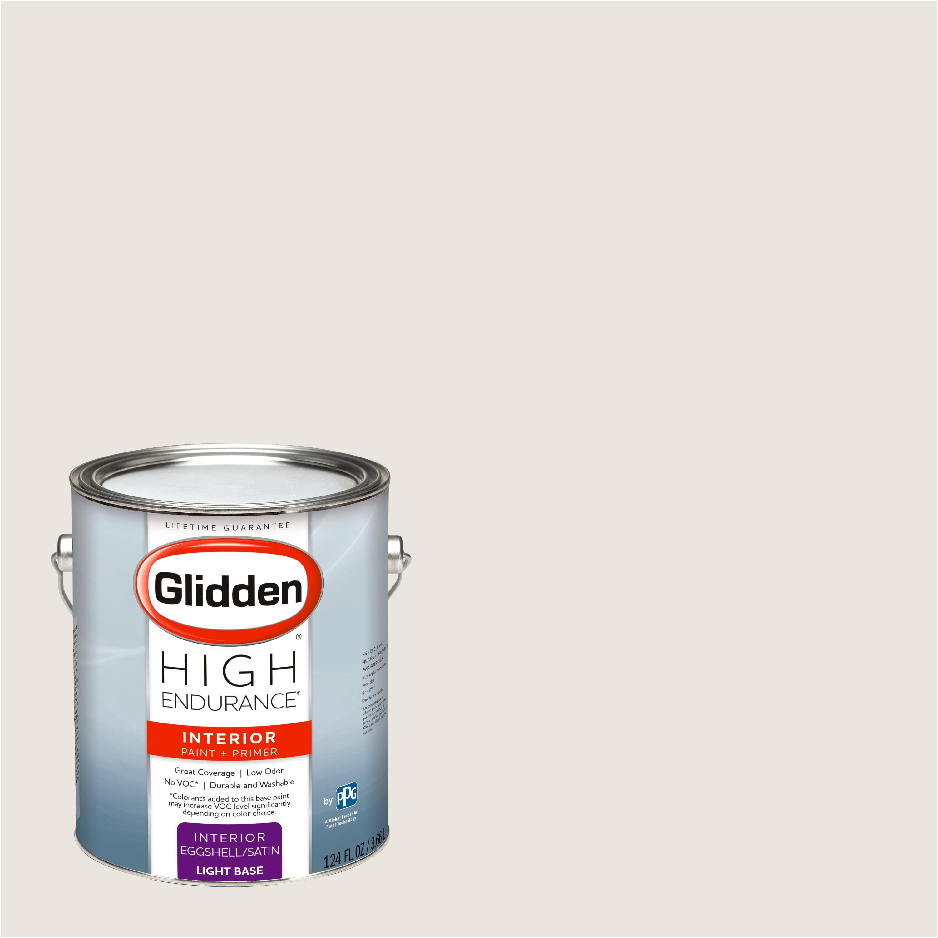 Glidden High Endurance Interior Paint And Primer Kitten White 30yy 78 035