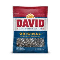 DAVID Roasted and Salted Original Sunflower Seeds 5.25 oz