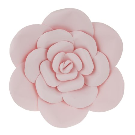 Mega Crafts - 16'' Handmade Paper Flower in Pink | For Home Décor, Wedding Bouquets & Receptions, Event Flower Planning, Table Centerpieces, Backdrop Wall Decoration, Garlands & Parties - Flower Centerpieces