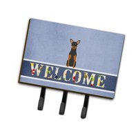 Carolines Treasures BB5609TH68 Manchester Terrier Welcome Leash or Key Holder
