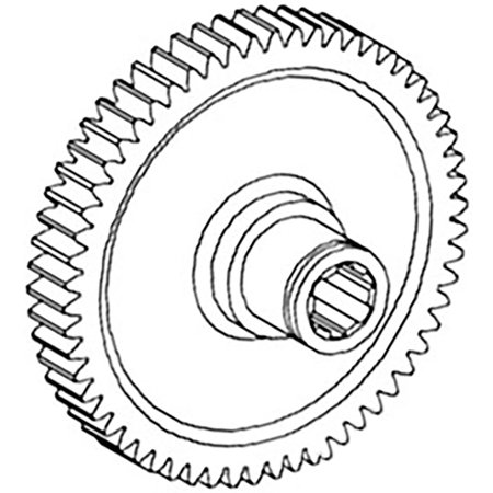 68512C1 New IPTO Drive Gear Made to fit Case-IH Tractor