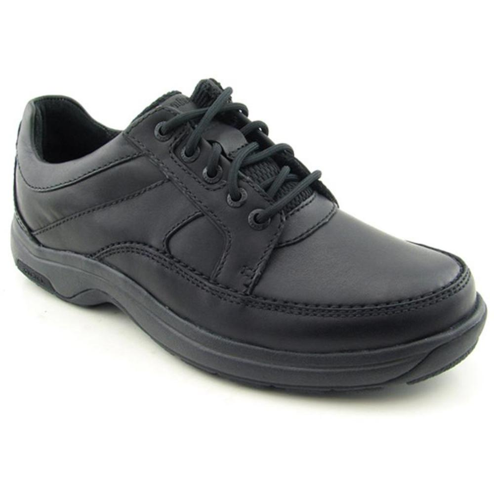Dunham Midland Men B Round Toe Leather Black Oxford by Dunham