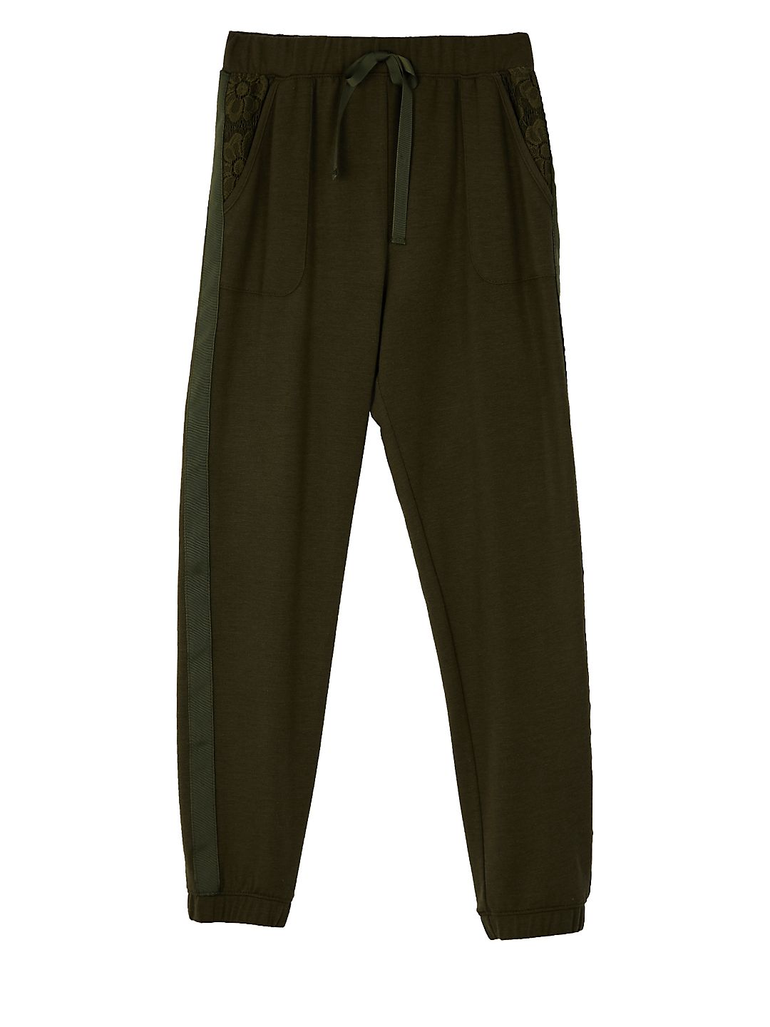 Girl's Embroidered Jogger Pants