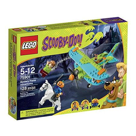 LEGO Scooby-Doo 75901 Mystery Plane Adventures Building Kit - Lego Halloween Scooby Doo