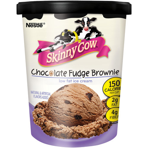 Skinny Cow Chocolate Fudge Brownie Low Fat Ice Cream, 5.8 oz