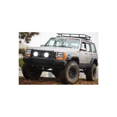 Rugged Ridge 11634 10 Fender Flares For Jeep Cherokee
