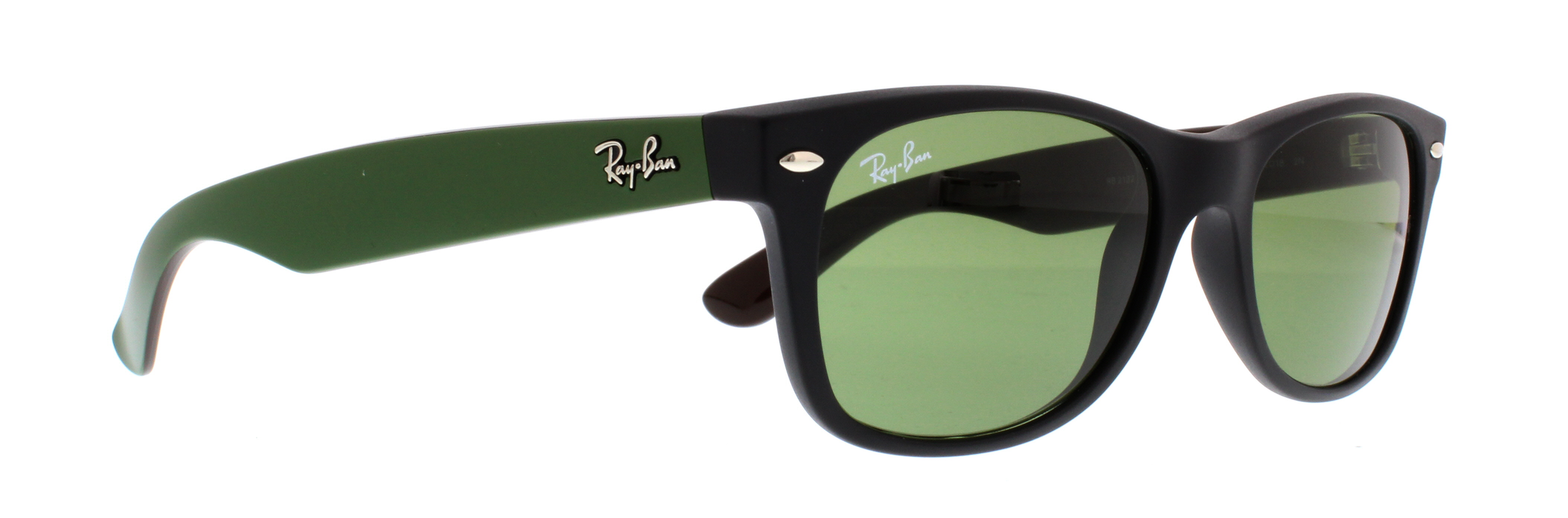 Ray-Ban Men\u0026#39;s New Wayfarer RB2132-901-52 Black Wayfarer Sunglasses - Walmart.com