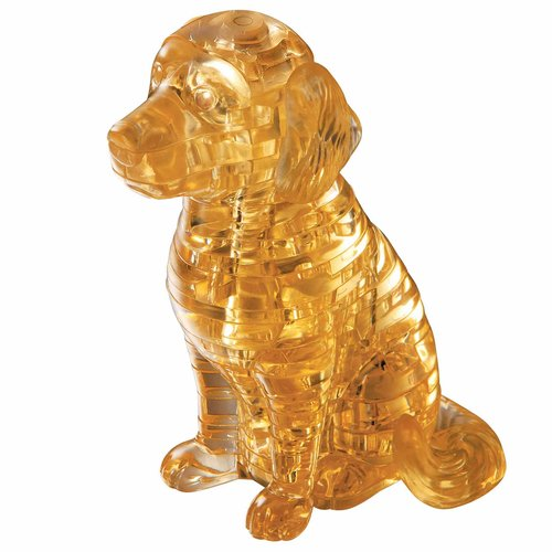 3D Crystal Puzzle, Puppy Dog