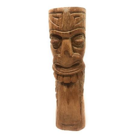 Island Tiki Bar Natural (Maori Tiki Totem 8