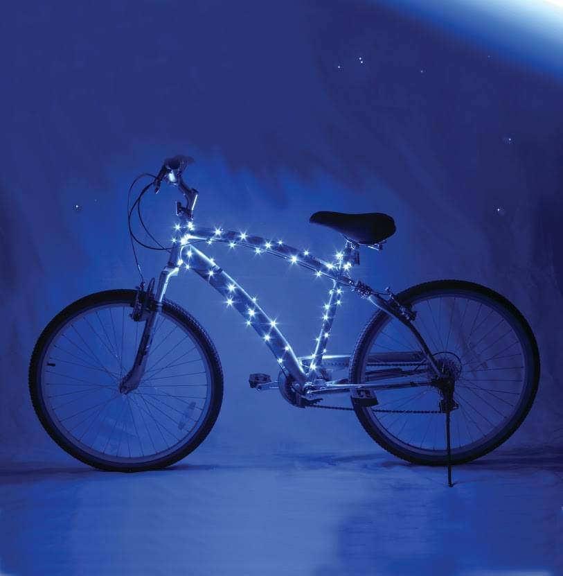 Cosmic Brightz Blue LED Bicycle Safety Light Accessory - image 1 de 1