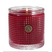 SMELL OF CHRISTMAS Aromatique Textured Glass Scented Jar Candle