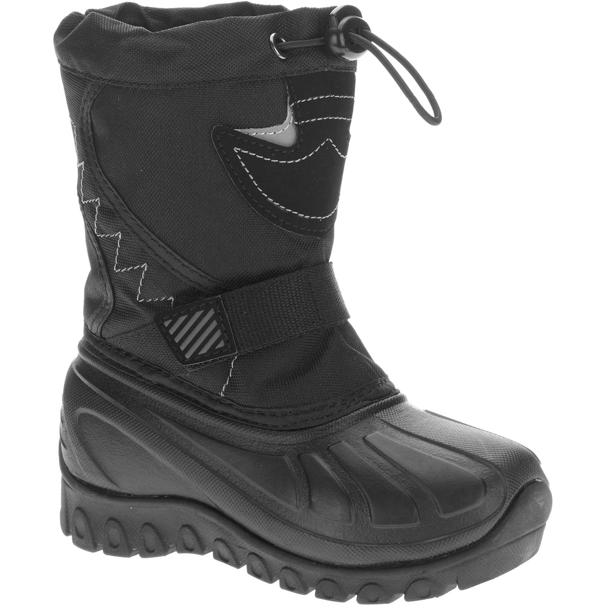Ozark Trail Toddler Boys' Temp Rated Winter Boot - Walmart.com