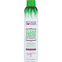 Not Your Mother's Clean Freak Refreshing Dry Shampoo Unscented, 7 oz