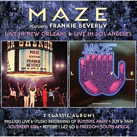 Live in New Orleans / Live in los Angeles: Deluxe (CD) - New Orleans Halloween Songs