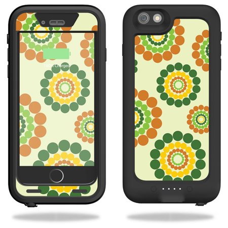 Easy Hippie Outfits (Skin For Mophie Juice Pack H2Pro for iPhone 6 Plus/6s Plus Case – Hippie Flowers | MightySkins Protective, Durable, and Unique Vinyl Decal wrap cover | Easy To Apply, Remove)