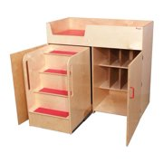 Kid's Play Deluxe Changing Table (Natural)