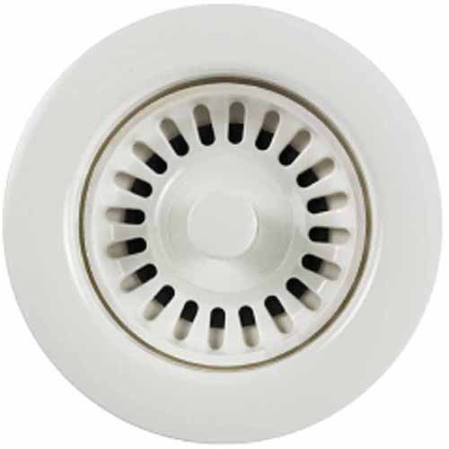 Houzer 190-9561 Disposal Flange for 3.5-Inch Drain Openings, White