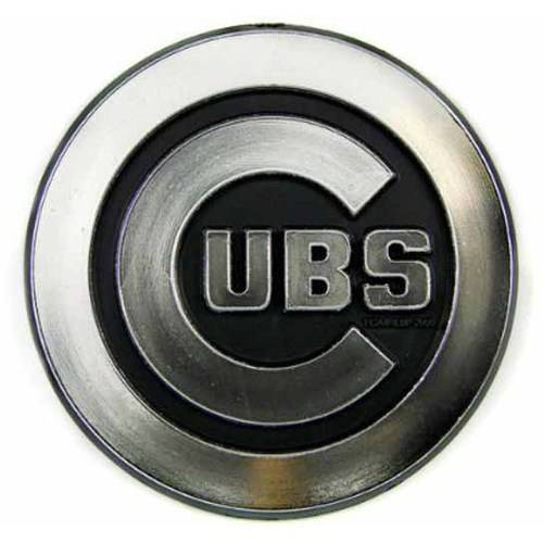 MLB Chicago Cubs Chrome Automobile Emblem