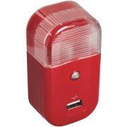 Voxx Accessories Red Usb Night Light USBNL2R