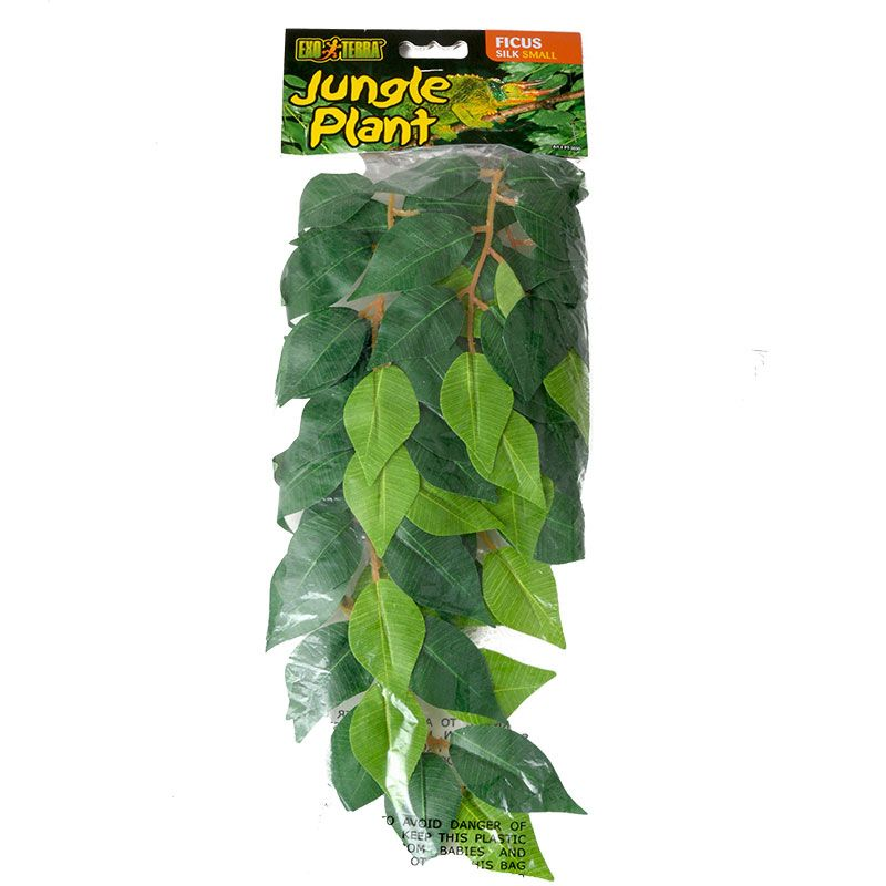 Exo-Terra Silk Ficus Forest Plant Small - Pack of 2