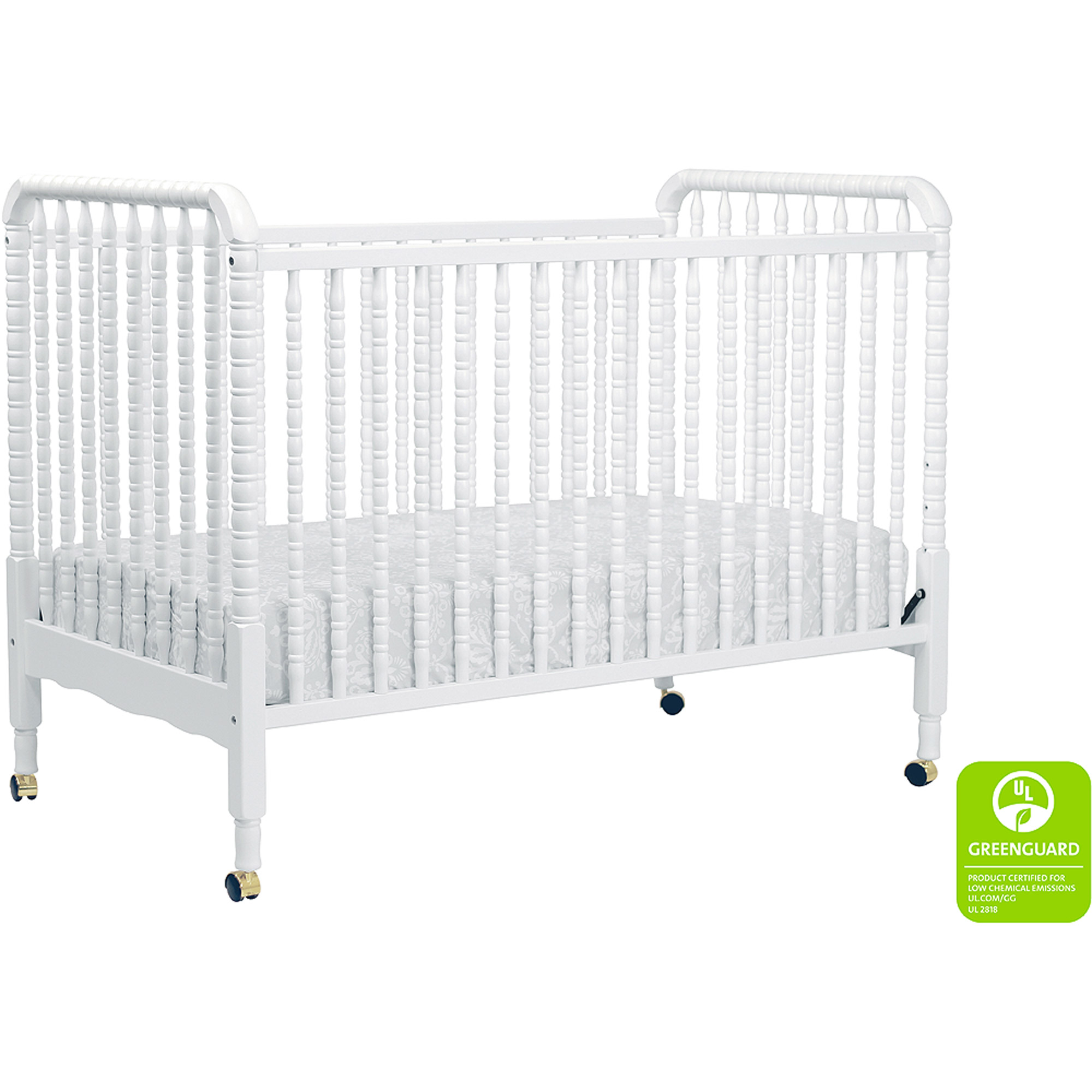 davinci jenny lind 3in1 convertible crib white - Jenny Lind Bed