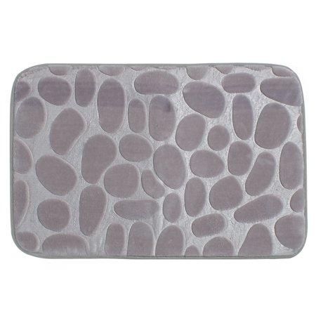 Non-slip Absorbent Memory Foam Bath Mat Bath Rugs Carpet ()
